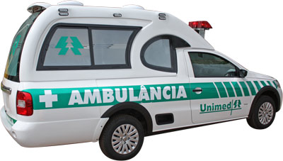 saveiro ambulancia
