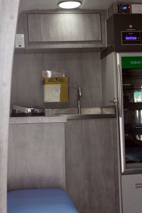 inteirar consultório móvel casa da vacina