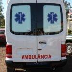 interno Amarok ambulancia com interior de fibra