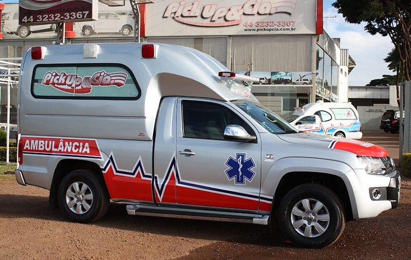 ambulancia amarok simples remoção e resgate