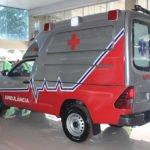 transformadora de hilux em ambulância