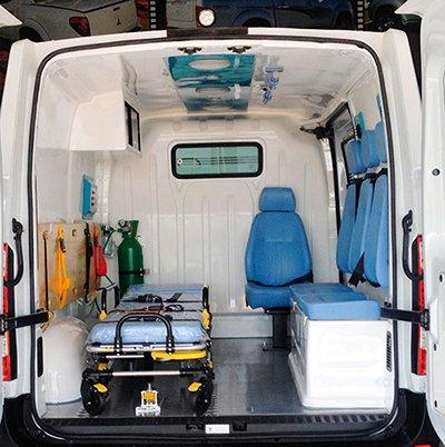 Transformação em fibra para ambulancia, venda e comercio de ambulancia