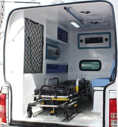transformadora de ambulancia s10