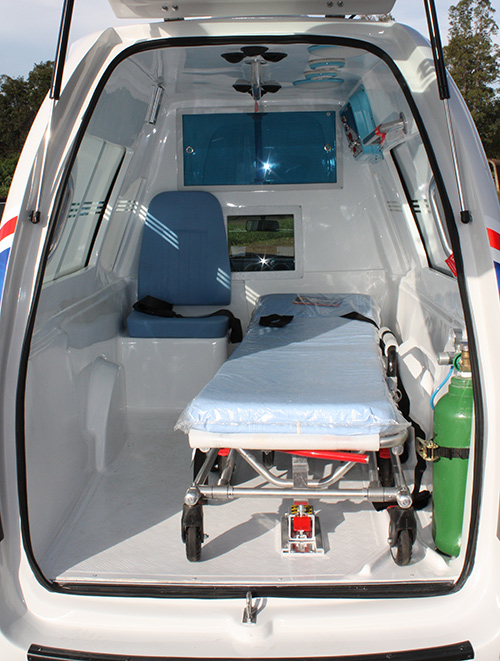 saveiro ambulância