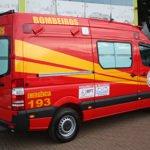 mercedes sprinter ambulância bombeiro