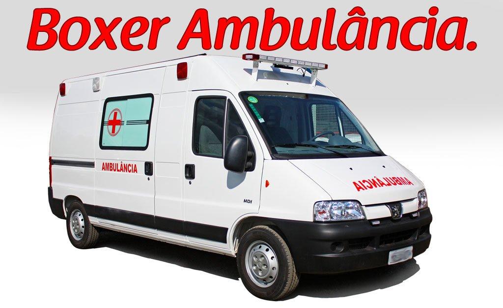venda de transformação para boxer ambulancia