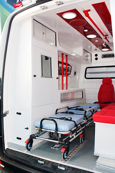 transformadora de ambulancia ford transit