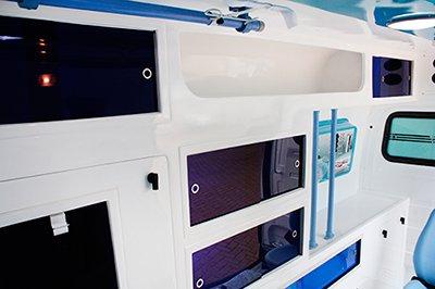 fabricante de ambulancia ford transit