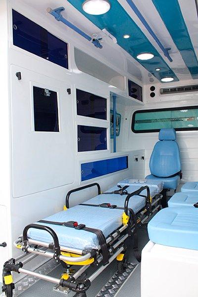fabrica de ambulancia ford transit
