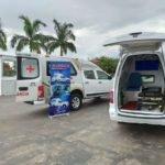 Fabrica pickupcia vendas e comercio de ambulâncias, cabines suplementares, capotas de fibra e tampão marítimo. marca dos prefeitos.