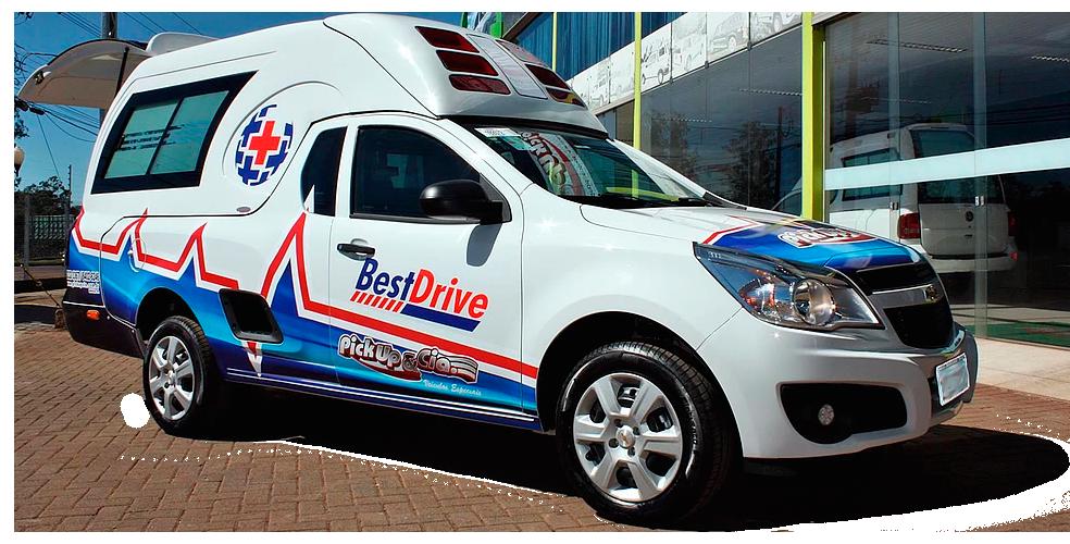 saveiro ambulância, venda e transformação para ambulancia