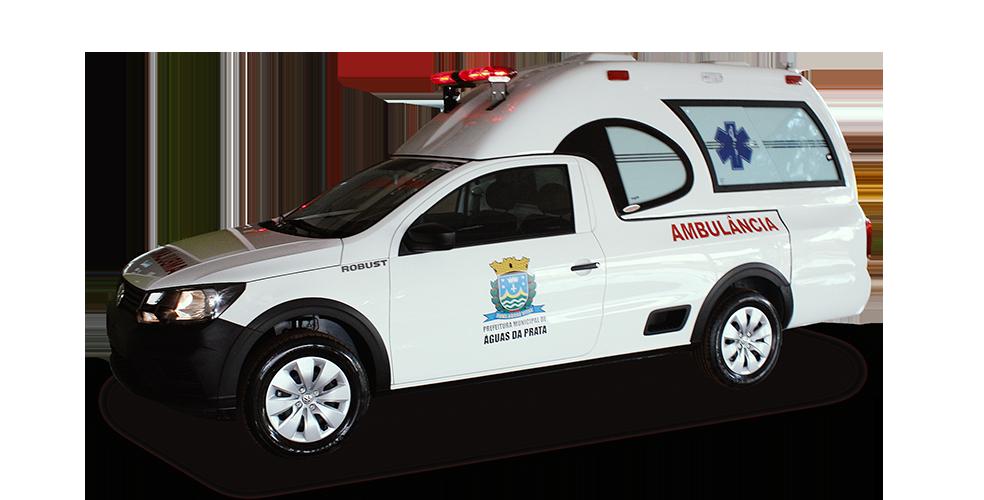 Transformação para Saveiro Ambulância