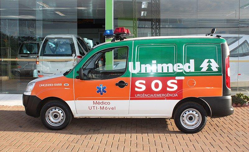 transformação em ambulância para doblo