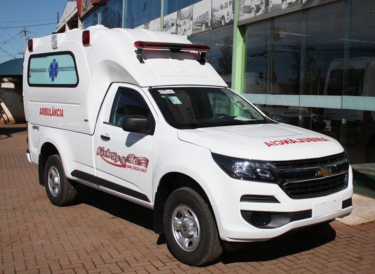 Transformação em ambulância para s10 dupla
